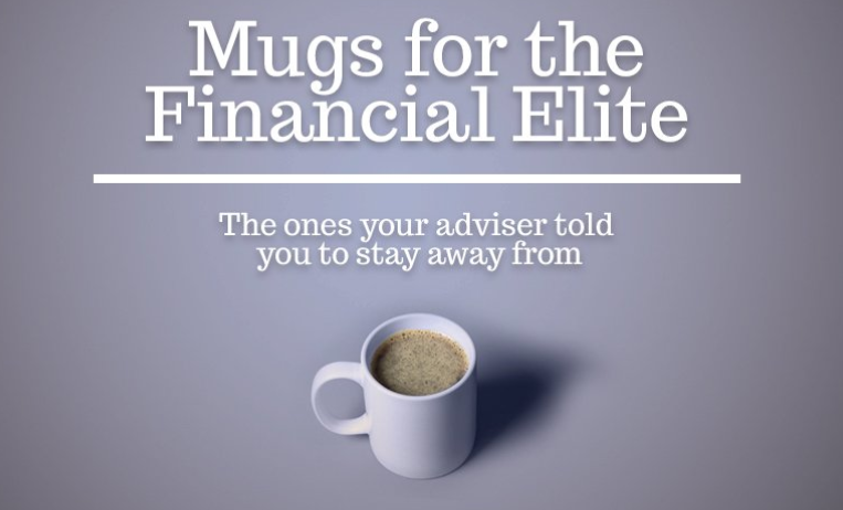 EBITBRAH — Comical mugs for individuals within the finance industry